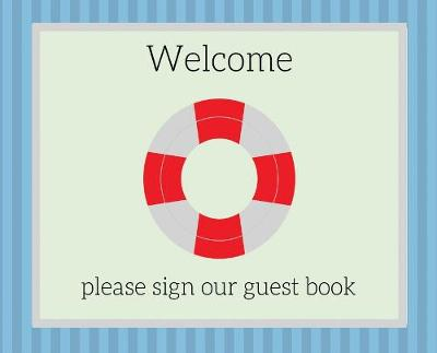 Guest Book for vacation home (Hardcover) - Lulu and Bell