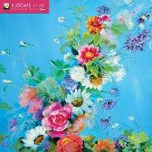 Blooms by Nel Whatmore Wall Calendar 2021 (Art Calendar) - Flame Tree Studio