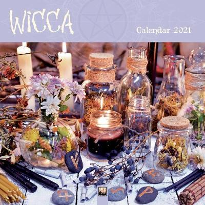 Wicca Wall Calendar 2021 (Art Calendar) - Flame Tree Studio