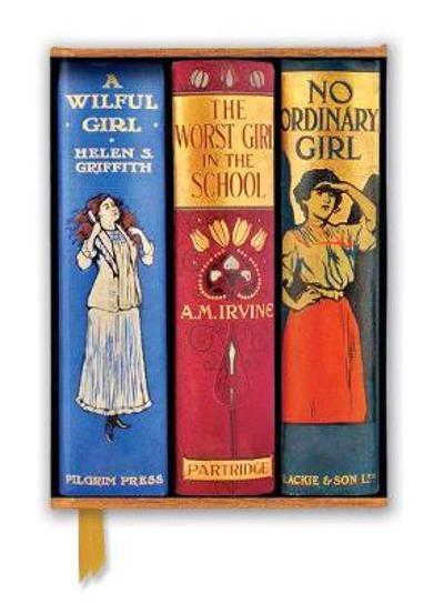Bodleian Libraries: Book Spines Great Girls (Foiled Journal) - Flame Tree Studio