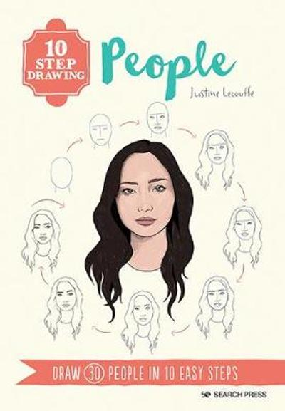 10 Step Drawing: People - Justine Lecouffe
