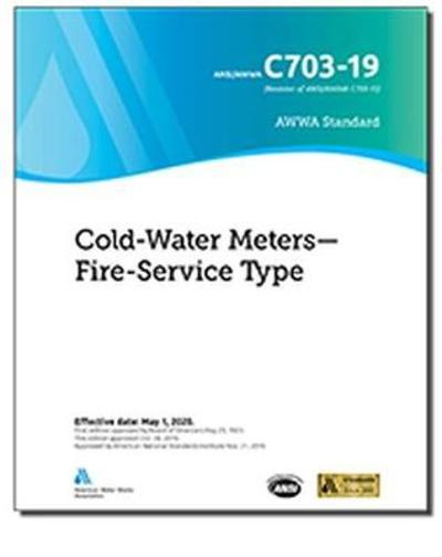 C703-19 Cold-Water Meters - American Water Works Association