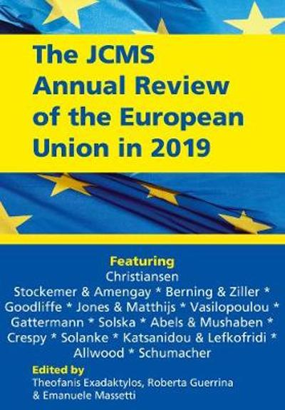 The JCMS Annual Review of the European Union in 2019 - Theofanis Exadaktylos