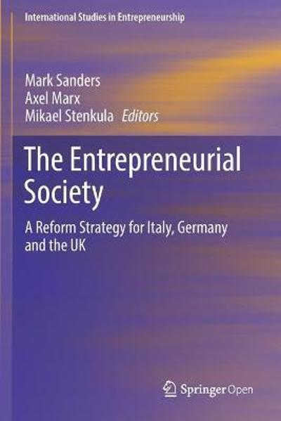 The Entrepreneurial Society - Mark Sanders