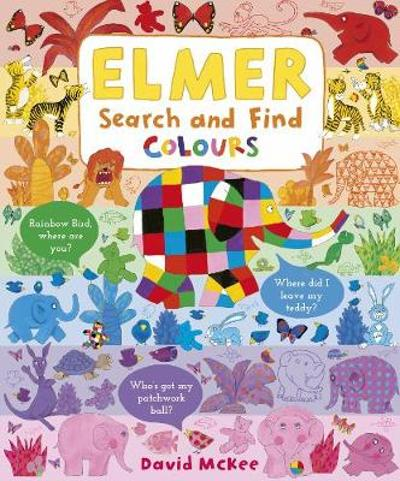 Elmer Search and Find Colours - David McKee