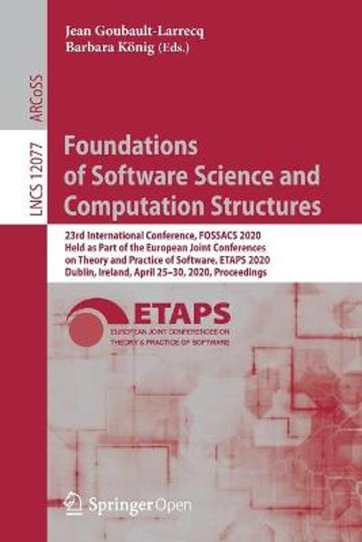 Foundations of Software Science and Computation Structures - Jean Goubault-Larrecq
