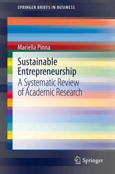 Sustainable Entrepreneurship - Mariella Pinna