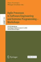 Agile Processes in Software Engineering and Extreme Programming - Workshops - Maria Paasivaara Philippe Kruchten