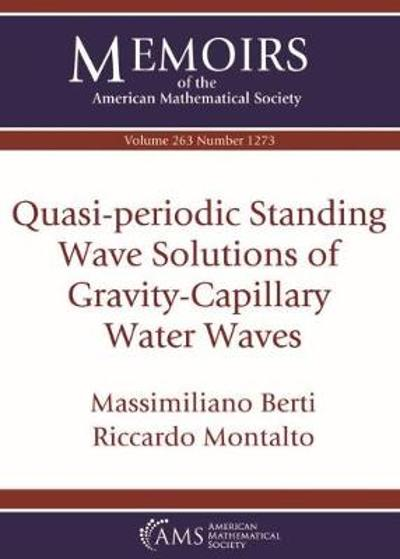 Quasi-periodic Standing Wave Solutions of Gravity-Capillary Water Waves - Massimiliano Berti