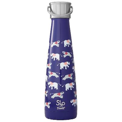 Drikkeflaske 450 ml Elephant Love - S'ip by S'well