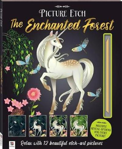 Picture Etch: The Enchanted Forest - Hinkler Books Hinkler Books