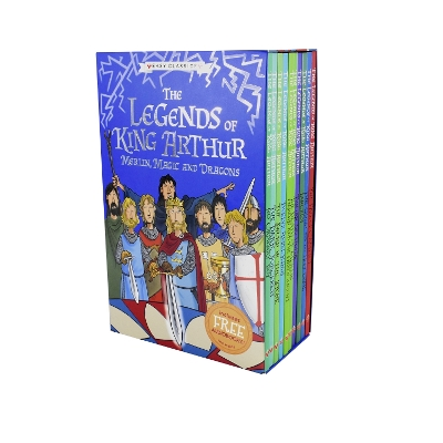 The Legends of King Arthur: Merlin, Magic, and Dragons - Tracey Mayhew