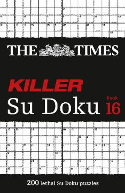 The Times Killer Su Doku Book 16 - The Times Mind Games