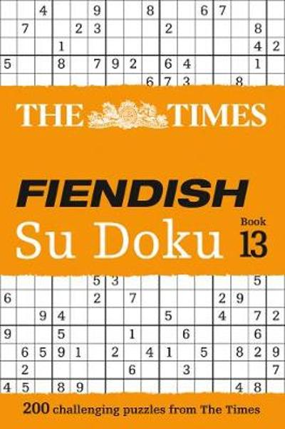 The Times Fiendish Su Doku Book 13 - The Times Mind Games