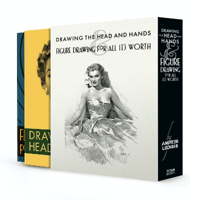 Drawing the Head and Hands & Figure Drawing (Box Set) - Andrew Loomis
