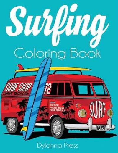 Surfing Coloring Book - Dylanna Press