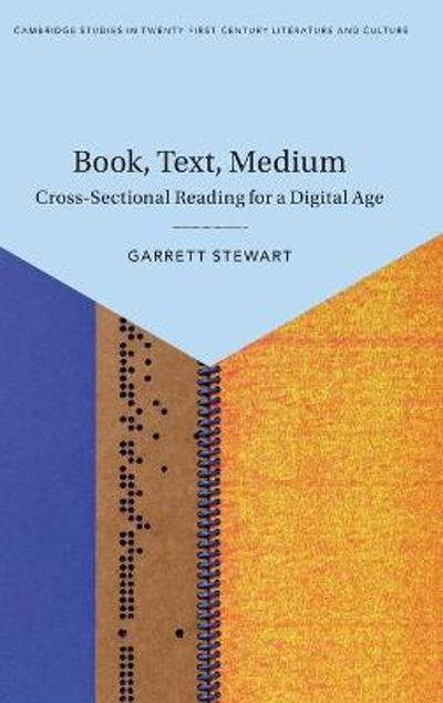 Book, Text, Medium - Garrett Stewart