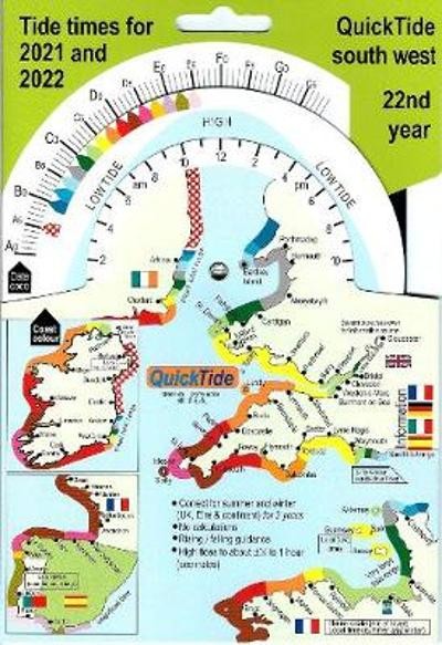 QuickTide south west: tide times for 2021 and 2022, 22nd year -