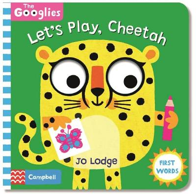 Let's Play, Cheetah - Campbell Books