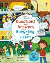 Lift-the-flap Questions and Answers About Recycling and Rubbish - Katie Daynes Katie Daynes Peter Donnelly