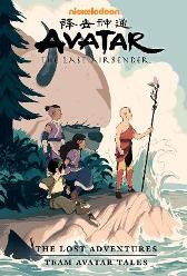 Avatar: The Last Airbender - The Lost Adventures And Team Avatar Tales Library Edition - Joaquim Dos Santos Gene Luen Yang Carla Speed McNeil