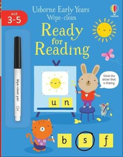 Early Years Wipe-Clean Ready for Reading - Jessica Greenwell