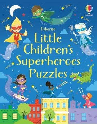 Little Children's Superheroes Puzzles - Kirsteen Robson