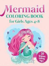 Mermaid Coloring Book for Girls Ages 4-8 - Ew Coloring Books