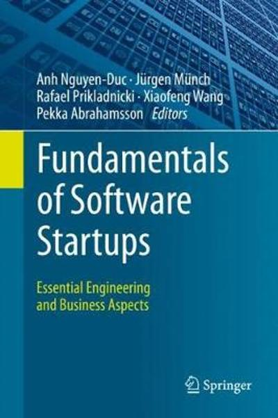 Fundamentals of Software Startups - Anh Nguyen-Duc