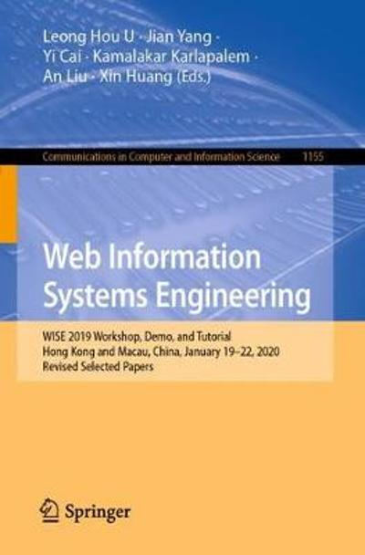 Web Information Systems Engineering - Leong Hou U