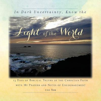 In Dark Uncertainty, Know the Light of the World - Rebekah Tague