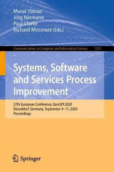 Systems, Software and Services Process Improvement - Murat Yilmaz