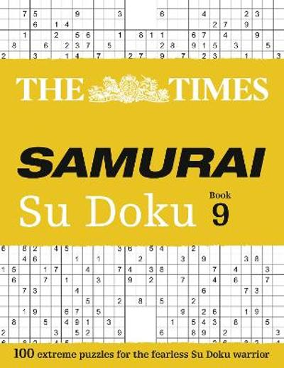 The Times Samurai Su Doku 9 - The Times Mind Games