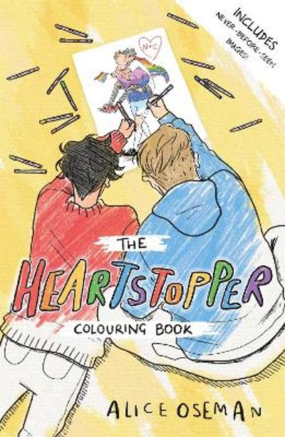 The Heartstopper Colouring Book - Alice Oseman