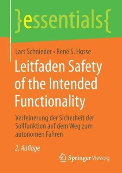 Leitfaden Safety of the Intended Functionality - Lars Schnieder