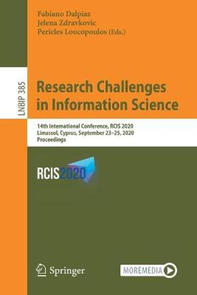 Research Challenges in Information Science - Fabiano Dalpiaz
