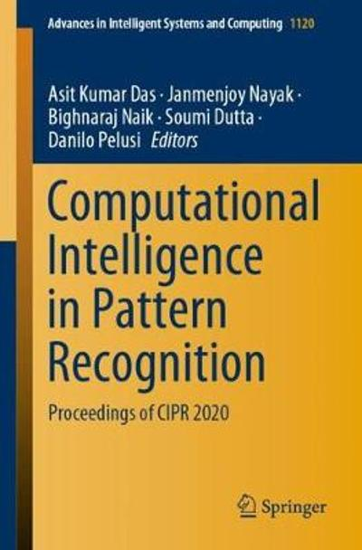 Computational Intelligence in Pattern Recognition - Asit Kumar Das