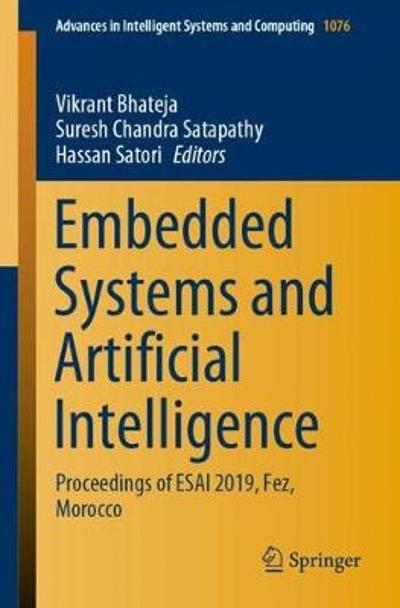 Embedded Systems and Artificial Intelligence - Vikrant Bhateja