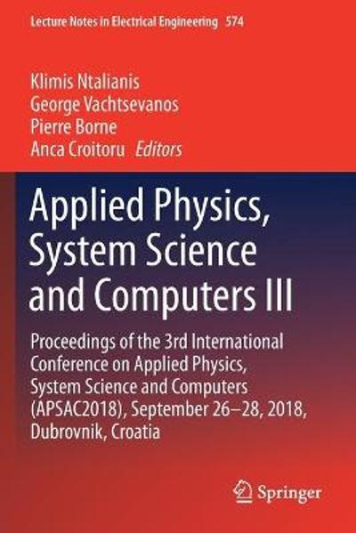 Applied Physics, System Science and Computers III - Klimis Ntalianis