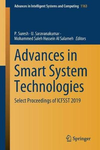 Advances in Smart System Technologies - P. Suresh