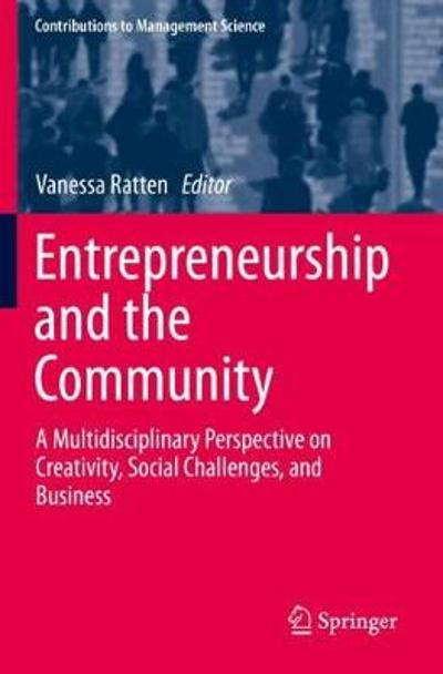 Entrepreneurship and the Community - Vanessa Ratten