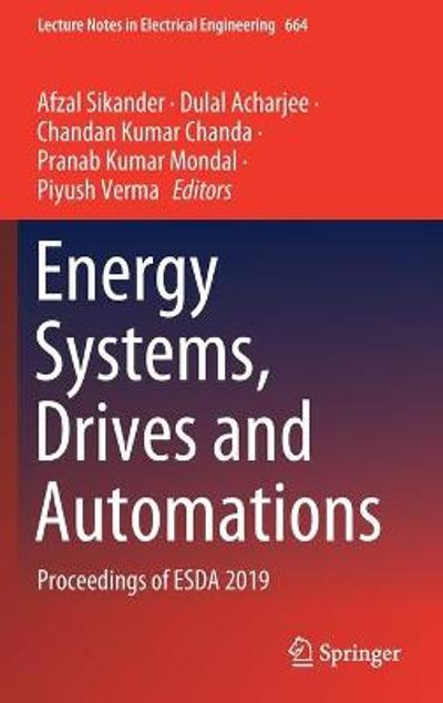 Energy Systems, Drives and Automations - Afzal Sikander