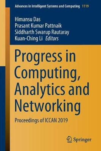 Progress in Computing, Analytics and Networking - Himansu Das