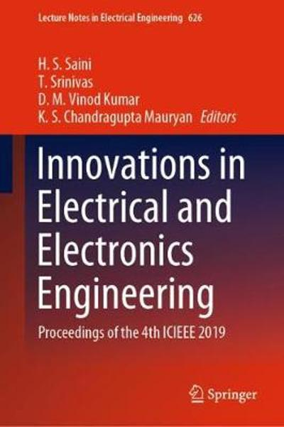 Innovations in Electrical and Electronics Engineering - H. S. Saini