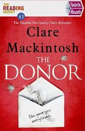 The Donor - Clare Mackintosh