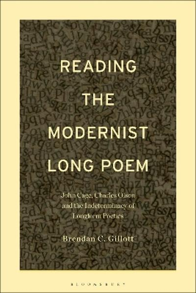 Reading the Modernist Long Poem - Dr. Brendan C. Gillott