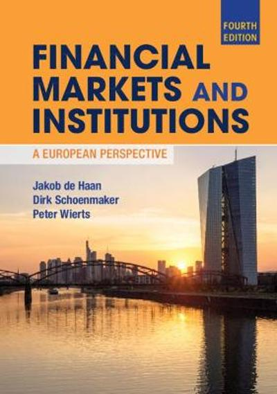 Financial Markets and Institutions - Jakob de Haan