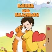 Boxer and Brandon (German Children's Book) - Kidkiddos Books Inna Nusinsky