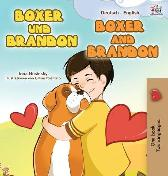 Boxer and Brandon (German English Bilingual Book for Kids) - Kidkiddos Books Inna Nusinsky