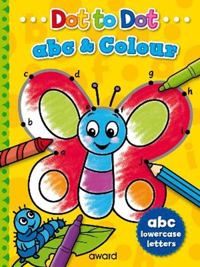 Dot to Dot abc and Colour - Angela Hewitt